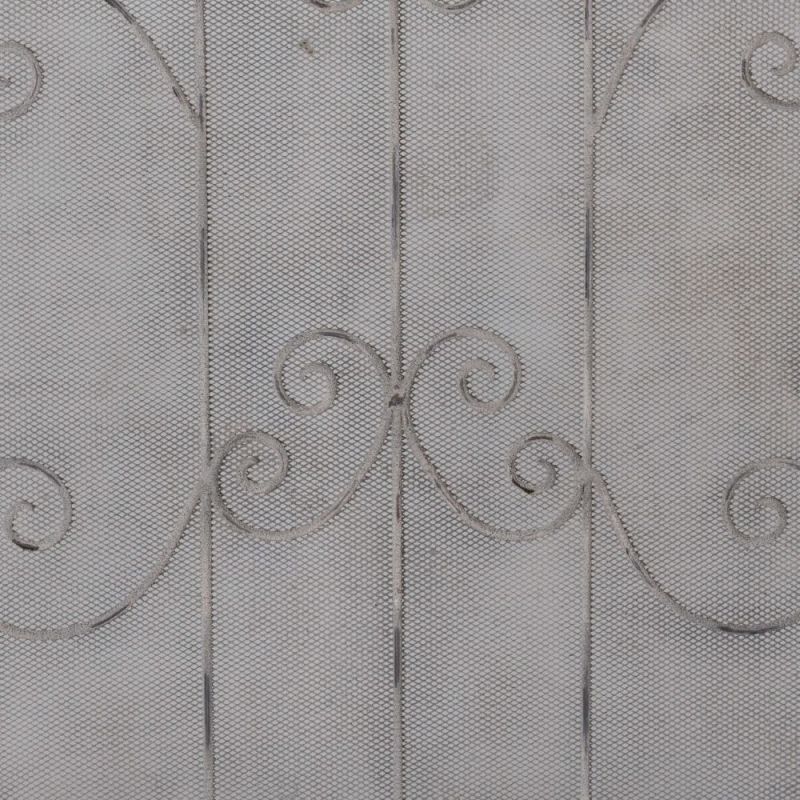 Hill Interiors Antique French Inspired Firescreen with Scroll Detailing