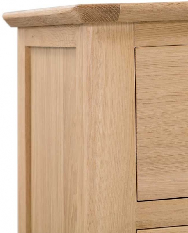 Lowell Natural Oak 6 Drawer Chest