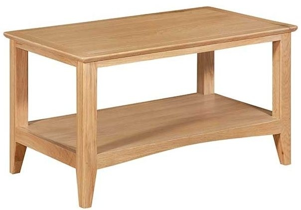 Lowell Natural Oak Coffee Table