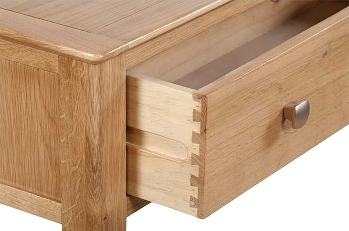 Lowell Natural Oak Console Table