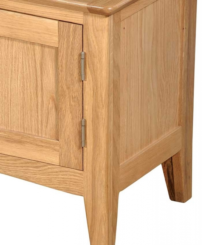 Lowell Natural Oak Small TV Unit