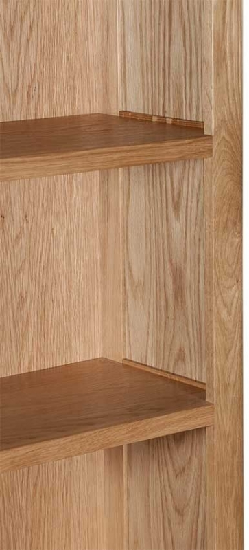 Lowell Natural Oak Large Bookcase