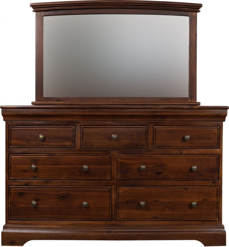 Sweet Dreams Lincoln Acacia 7 Drawer Chest