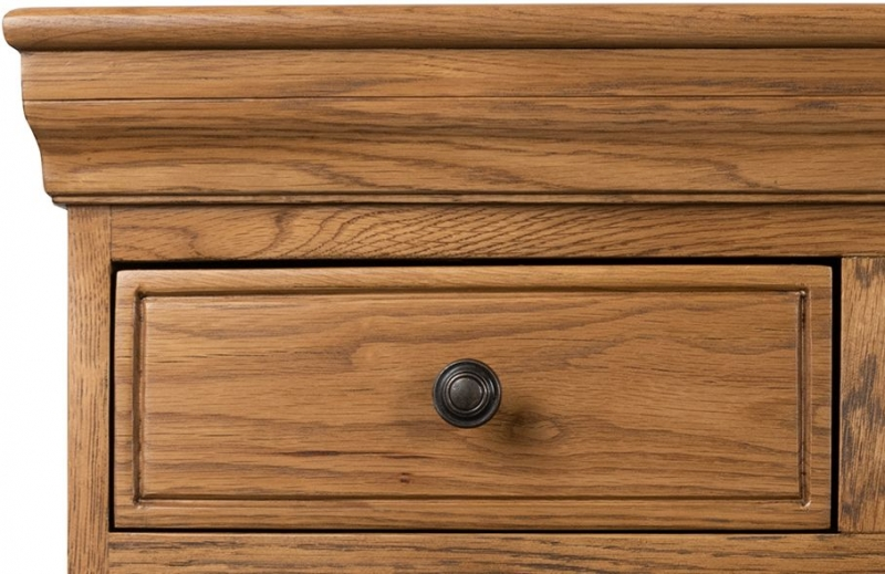 Sweet Dreams Grayson Oak 5 Drawer Chest