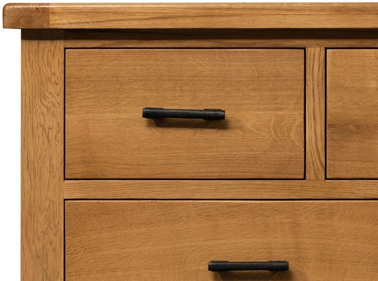 Sweet Dreams Lawrence Oak 7 Drawer Wide Chest