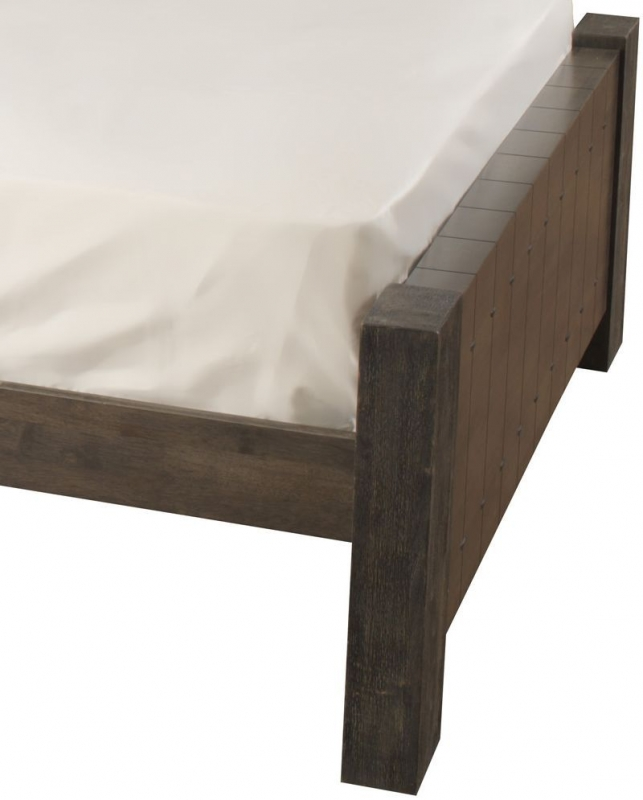 Sweet Dreams Mozart Antique Brown Bed Frame