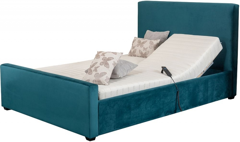 Sweet Dreams Pacific Frame with Latex Adaptable Adjustable Divan Bed