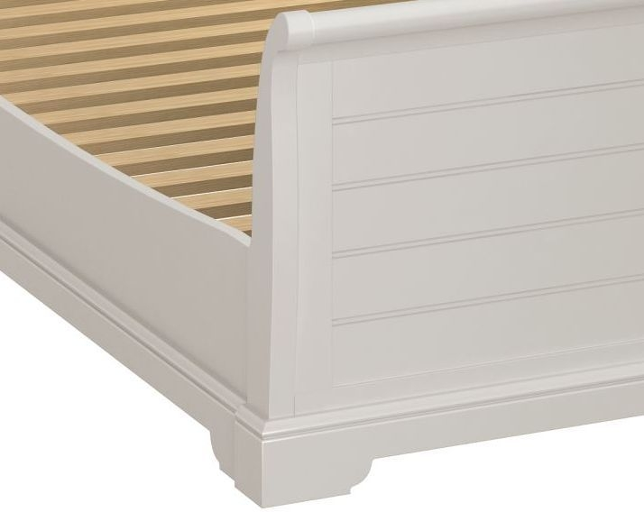 Berkeley Grey Painted Sleigh Bed