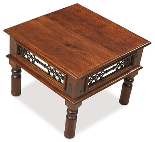 Clearance Half Price - Mica Sheesham Coffee Table - New - T087