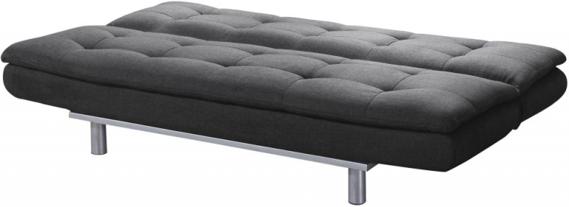 Sweet Dreams Sweden 3 Seater Charcoal Fabric Sofabed