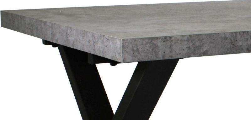 Fusion Stone Effect 190cm Dining Table