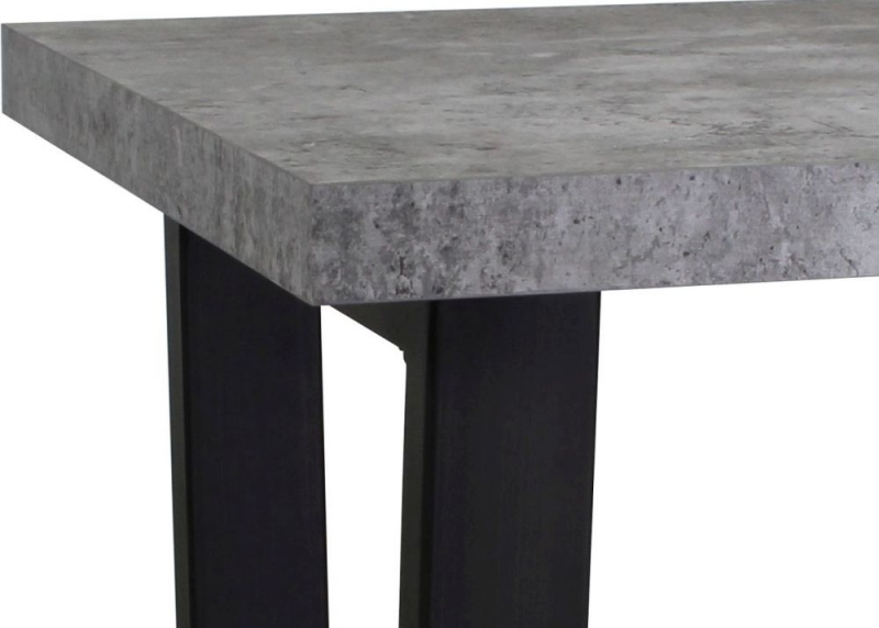 Fusion Stone Effect Lamp Table
