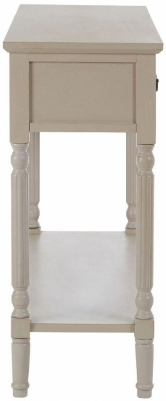 Clearance Half Price - Heritage Grey Wide Console Table - New - 418