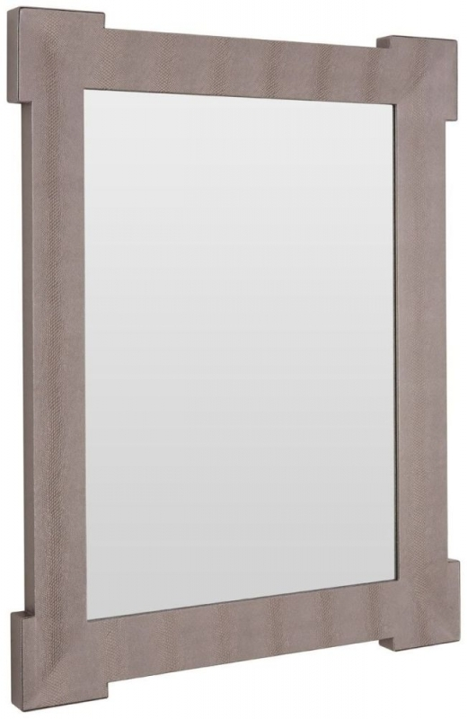 Clearance Half Price - Pacific Silver Rectangular Wall Mirror - 70cm x 90cm - New - 421