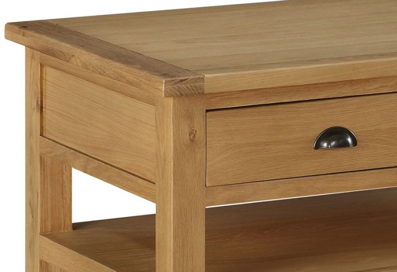 Sweet Dreams Kielder Oak 2 Drawer Coffee Table