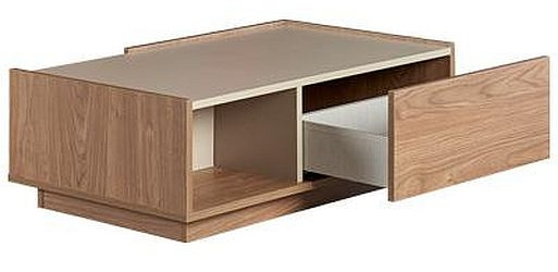 Lydney Oak 1 Drawer Coffee Table