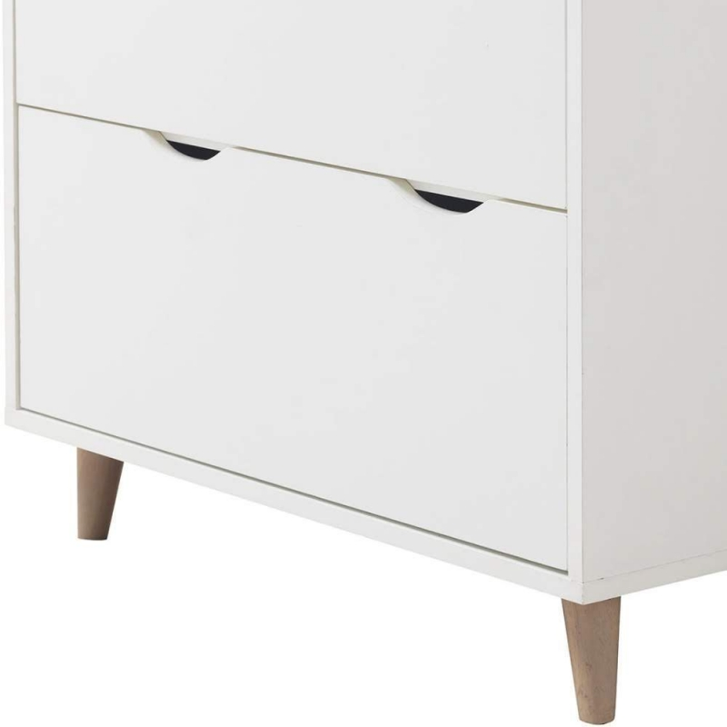 Pulford White 3 Piece Bedroom Set