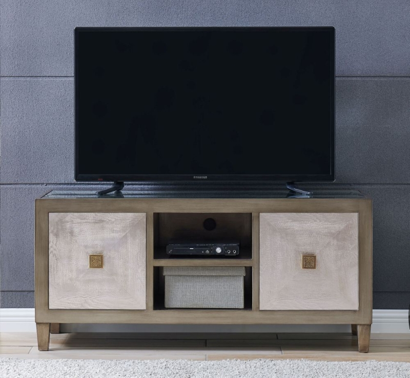 Waco TV Unit with Glass Top