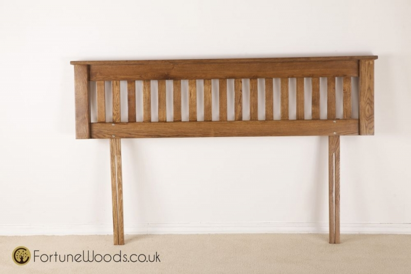 Rustic Oak Headboard