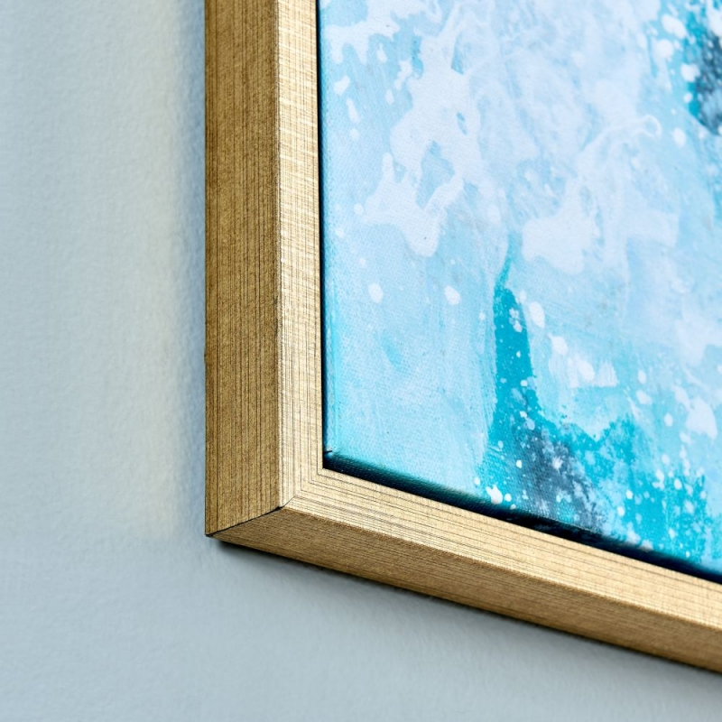 Elle Green Splash Wall Frame