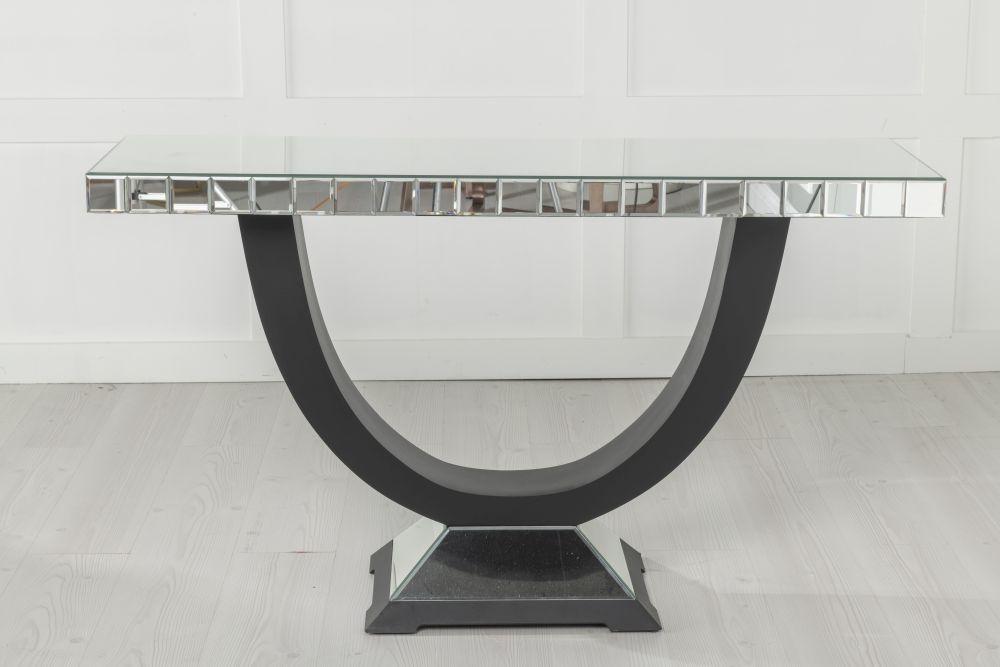 Urban Deco Art Deco Mirrored Console Table
