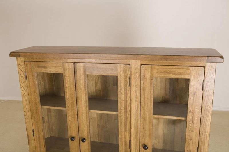 Rustic Oak Large Dresser Top