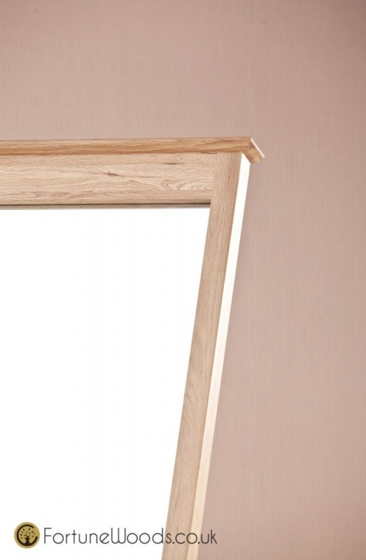 Milano Oak Cheval Mirror