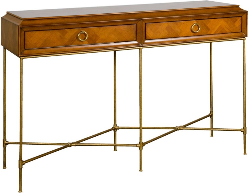 Provencal French Cherry Console Table