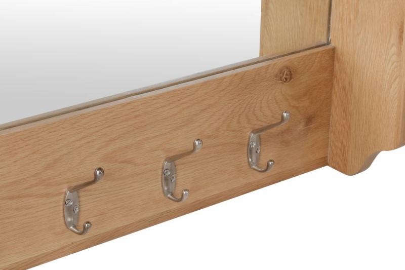 Eva Light Oak Hall Bench Top