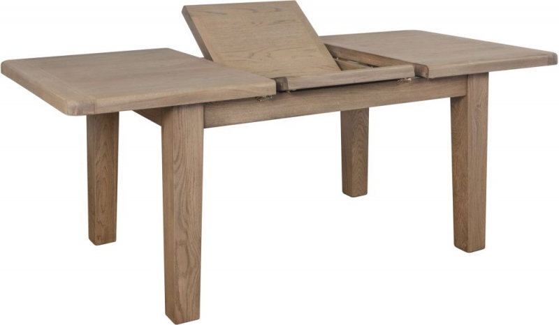 Hatton Oak 130cm-180cm Extending Dining Table