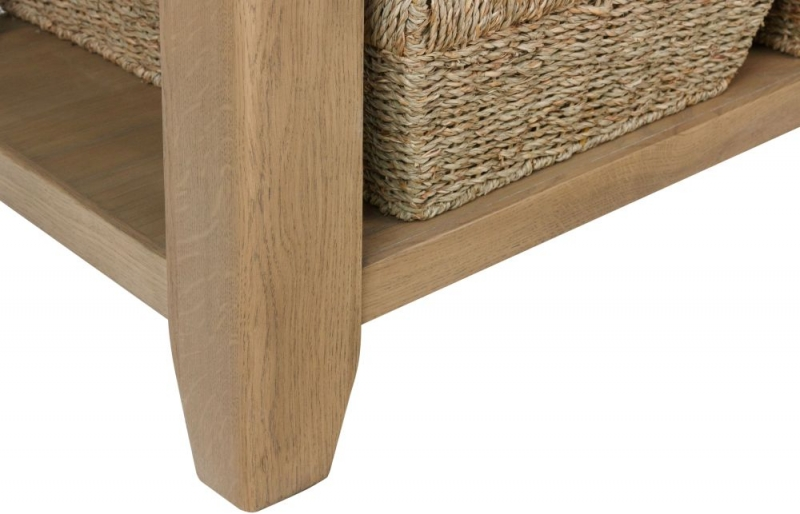 Hatton Oak Coffee Table