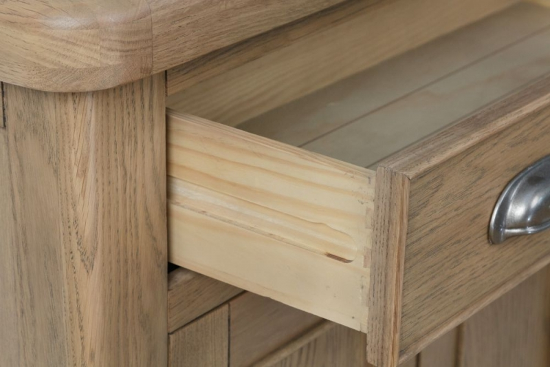 Hatton Oak 2 Door 1 Drawer Sideboard