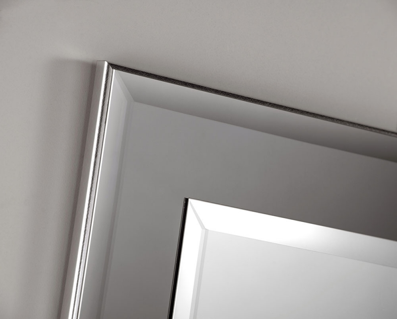 GNG Grey Rectangular Wall Mirror - 56cm x 81cm