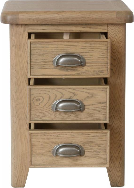 Hatton Oak Bedside Cabinet
