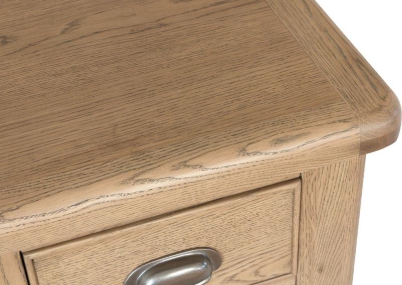 Hatton Oak Large Bedside Cabinet