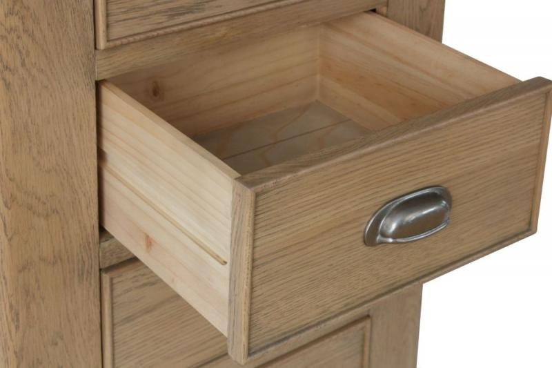 Hatton Oak 4 Drawer Chest