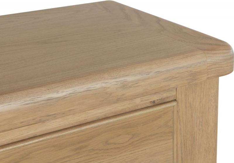 Hatton Oak 2+3 Drawer Chest