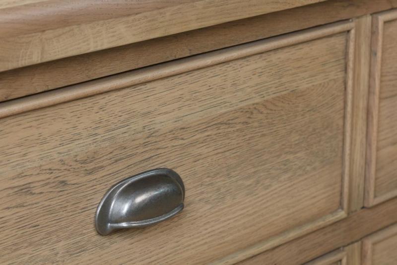 Hatton Oak 6 Drawer Chest