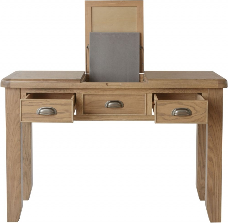 Hatton Oak Dressing Table