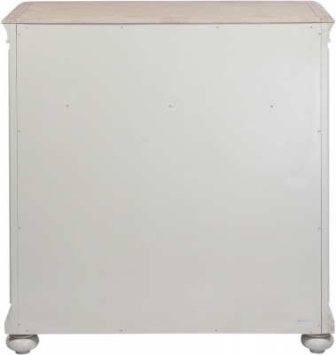 Clearance Half Price - Palmdale 3+2 Drawer Chest - Oak and Grey - New - 1202