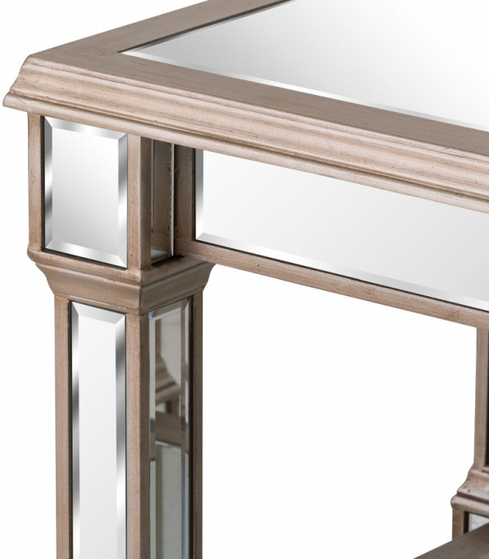Hill Interiors Belfry Mirrored Side Table