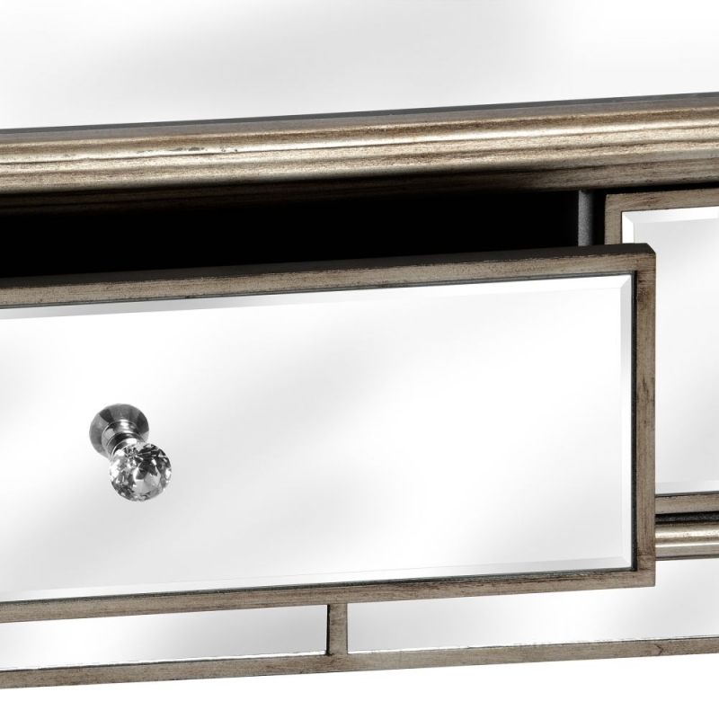 Hill Interiors Belfry 2 Drawer Mirrored Coffee Table