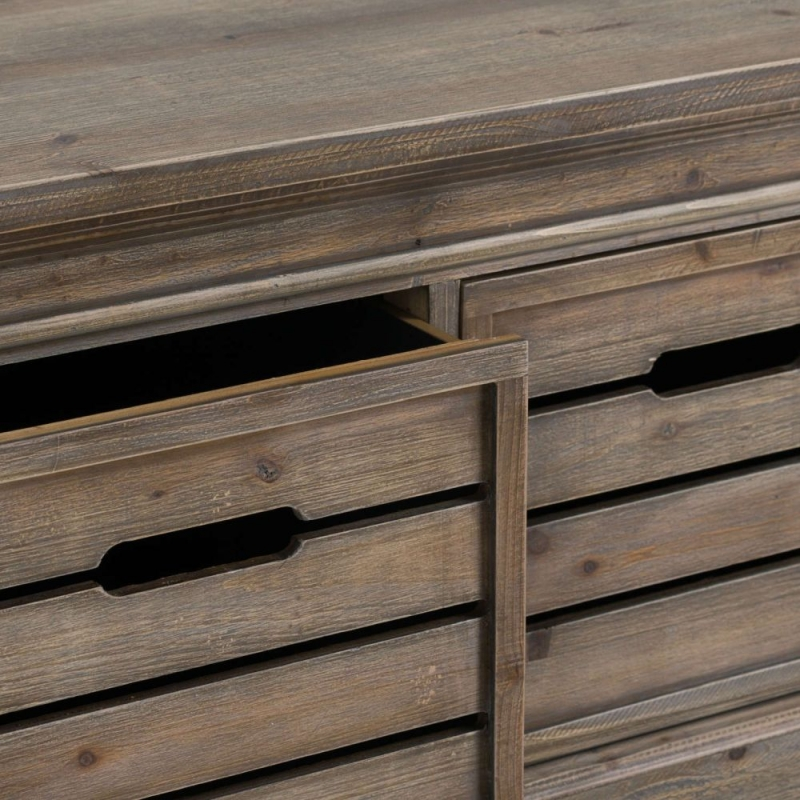 Hill Interiors Brooklyn Distressed Pine 2 Drawer Chest