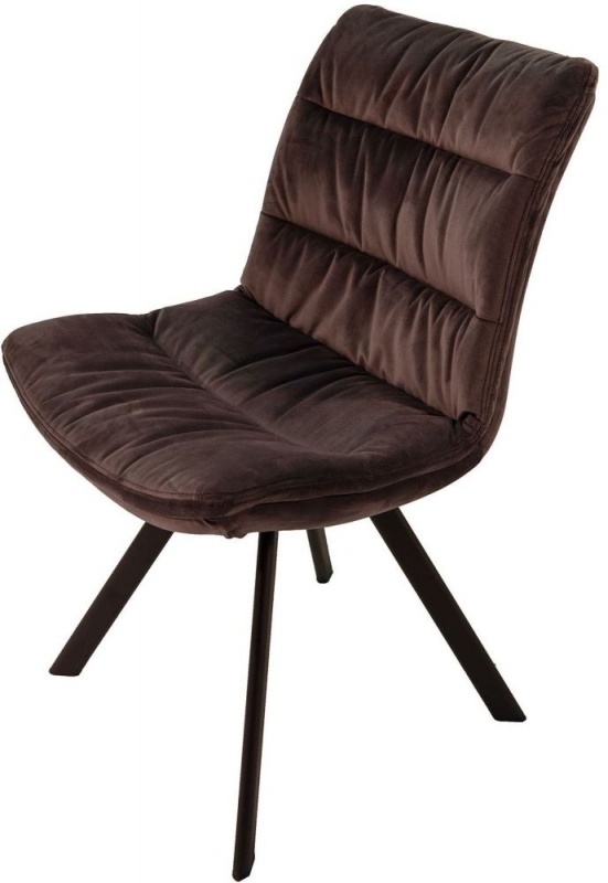 Paloma Charcoal Grey Dining Chair (Pair)