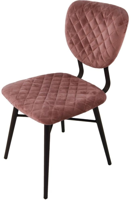 Ranger Dusk Velvet Dining Chair (Pair)