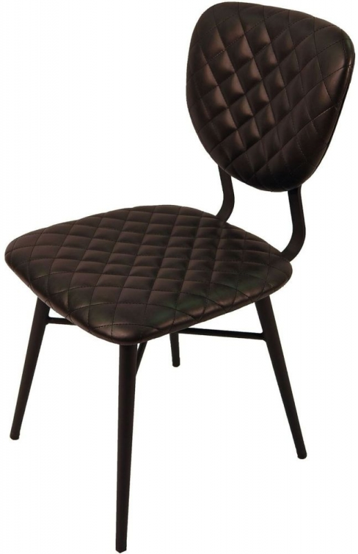Ranger Vintage Dark Grey Dining Chair (Pair)