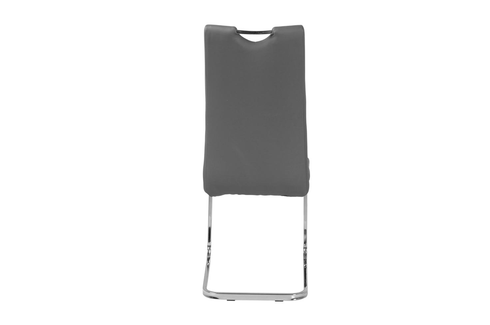 Urban Deco Nikko Grey Faux Leather Swing Dining Chair