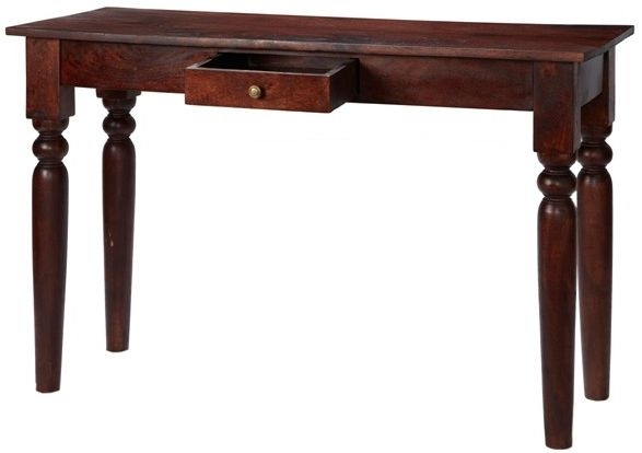 Indian Hub Jaipur Dark Mango Console Table