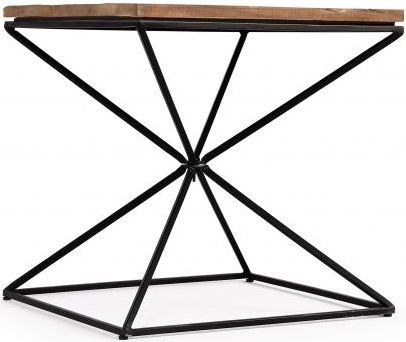 The Cosgrove Collection Side Table with Geometric Frame
