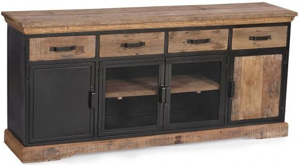 The Cosgrove Collection Large 4 Door 4 Drawer Sideboard